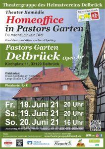 Homeoffice in Pastors Garten